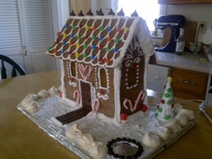Lessons from the gingerbread house