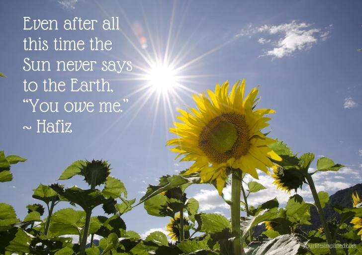 hafiz quotes sun - photo #28
