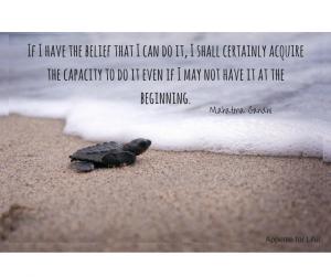 Belief Possibilities Gandhi Quotes